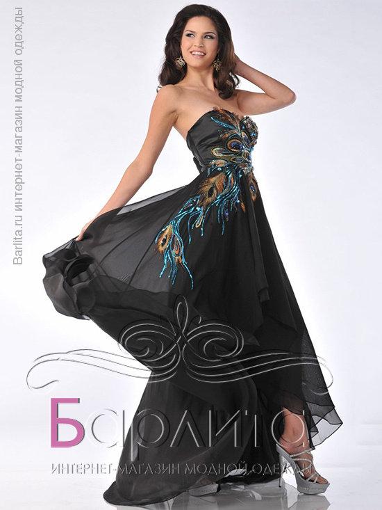 Платья с павлином фото