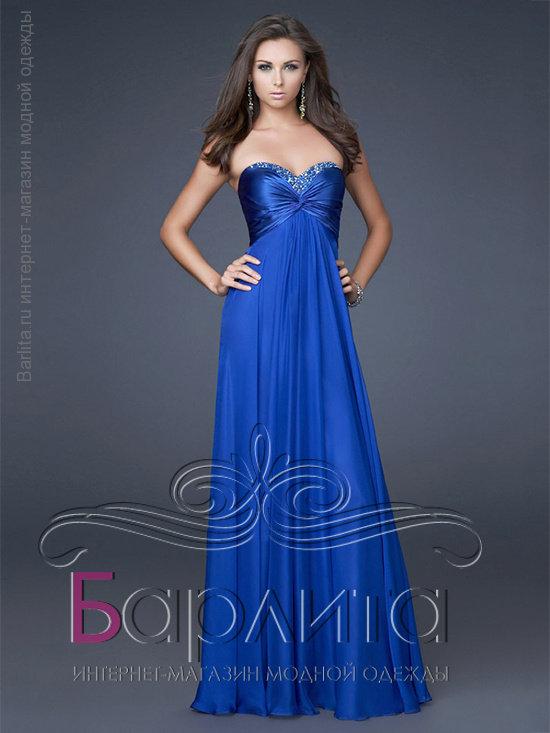 4b9da0b546b Вечернее длинное платье в пол Интернет-магазин Barlita.ru
