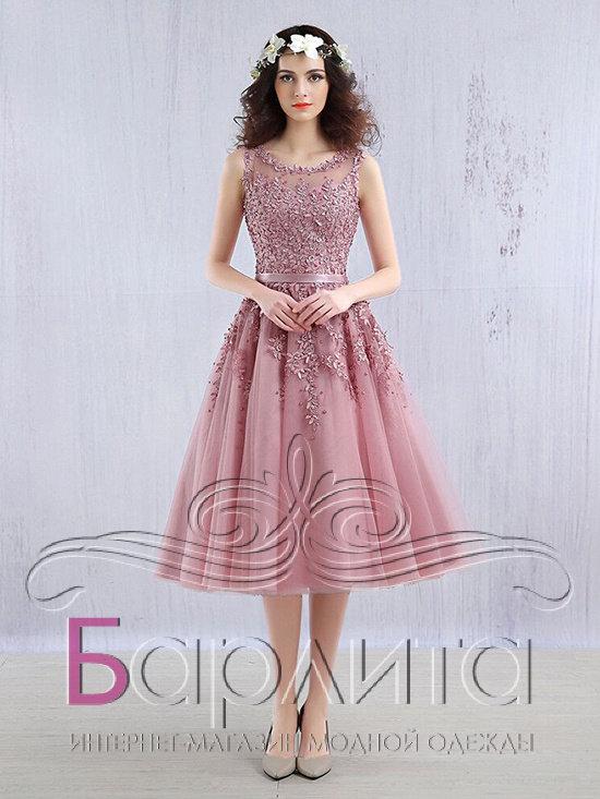 b478ab165eb Коктельное вечернее платье Интернет-магазин Barlita.ru