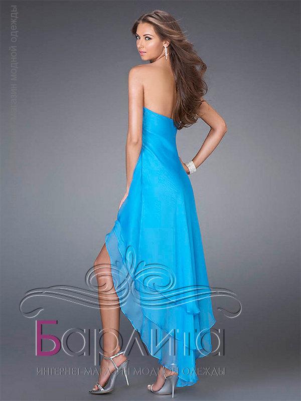 a97b94e8aba Не дорого короткое платье со шлейфом