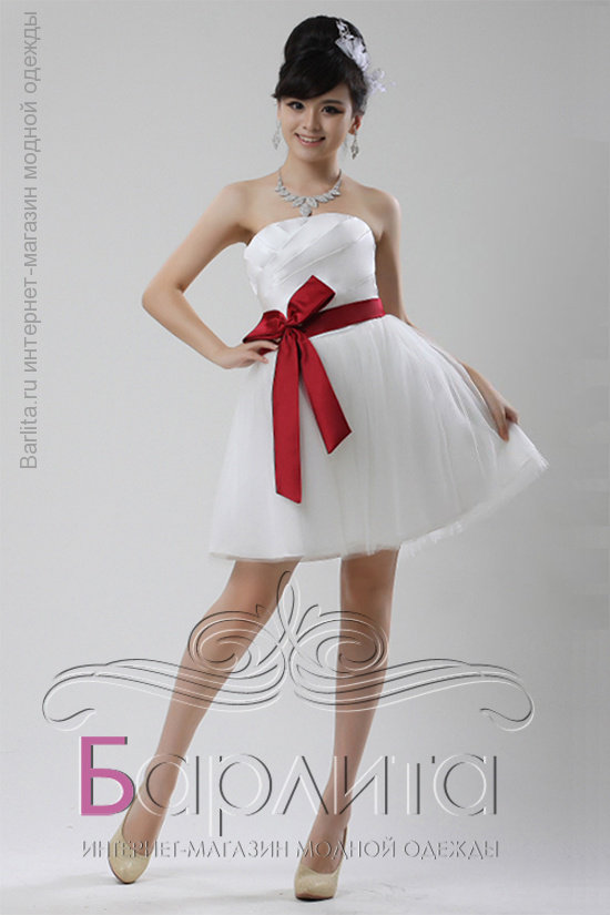 df113d850d1 Короткое праздничное платье для выпускного бала