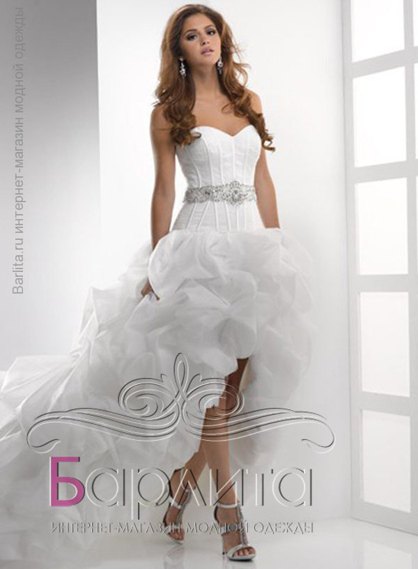 2d84b4b5441 Не дорого ассиметричное платье со шлейфом